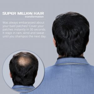 Super Million Hair - Hard Mist - Pack of 2